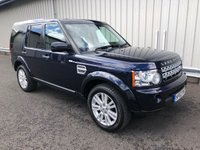 2013 LAND ROVER DISCOVERY 3.0 4 SDV6 COMMERCIAL VAN AUTO 255 BHP £13995.00