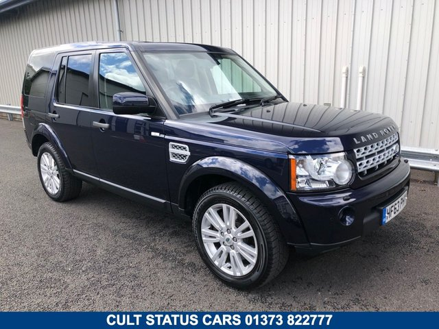 2013 63 LAND ROVER DISCOVERY 3.0 4 SDV6 COMMERCIAL VAN AUTO 255 BHP