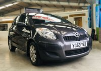 2009 TOYOTA YARIS 1.3 TR VVT-I 5 DOOR HATCH low miles with full service history £3995.00