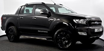 2018 FORD RANGER 3.2 TDCi Wildtrak Double Cab Pickup 4x4 4dr Auto £21995.00