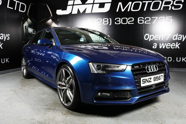 2013 AUDI A5 2.0 SPORTBACK TDI S LINE BLACK EDITION STYLE 177 BHP (FINANCE AND WARRANTY)