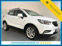 USED 2017 17 VAUXHALL MOKKA X 1.4 DESIGN NAV 5d AUTO 138 BHP FULL HISTORY - 1 OWNER - SAT NAV - PARKING SENSORS - AIR CON - BLUETOOTH - DAB RADIO