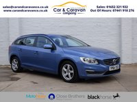 USED 2014 64 VOLVO V60 2.0 D4 BUSINESS EDITION 5d 178 BHP One Owner Full Dealer History Buy Now, Pay Later Finance!