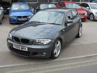 USED 2008 08 BMW 1 SERIES 2.0 120D M SPORT 5d 175 BHP
