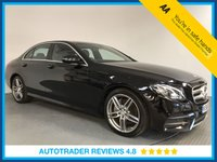 USED 2016 66 MERCEDES-BENZ E CLASS 2.0 E 220 D AMG LINE 4d AUTO 192 BHP FULL MERCEDES HISTORY - 1 OWNER - EURO 6 - CAMERA - PARKING SENSORS - AIR CON - BLUETOOTH - 19' ALLOYS
