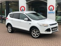 USED 2015 65 FORD KUGA 2.0 TITANIUM TDCI 5d 148 BHP Part Leather/Bluetooth/DAB