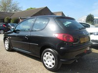 USED 2005 54 PEUGEOT 206 1.1 ZEST STYLE 3d 60 BHP ONLY GROUP 7 INSURANCE
