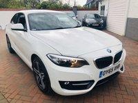 2015 BMW 2 SERIES 1.5 218I SPORT 2d 134 BHP £13495.00