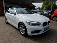 USED 2016 16 BMW 1 SERIES 1.5 118I SE 3d AUTO 134 BHP ONE OWNER,SAT NAV,BLUETOOTH,LED HEADLAMPS,USB AND AUX PORT,SUNROOF