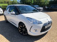 2014 CITROEN DS3 1.6 DSTYLE PLUS 3d 120 BHP £5400.00
