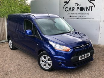 2016 FORD TRANSIT CONNECT 1.6L 240 LIMITED P/V 0d 114 BHP £13950.00