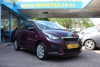 USED 2015 15 PEUGEOT 108 1.0 ACTIVE 3dr 68 BHP NEED FINANCE??? APPLY WITH US!!!