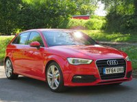 USED 2014 64 AUDI A3 1.6 TDI S LINE 5d 109 BHP 1 OWNER & STUNNING CONDITION