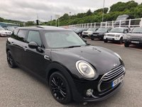USED 2016 65 MINI CLUBMAN 1.5 COOPER 5d 134 BHP Leather, Sat Nav, panoramic glass sunroof, DAB. Only 25,700 miles