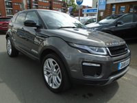 USED 2016 16 LAND ROVER RANGE ROVER EVOQUE 2.0 TD4 SE TECH 5d 177 BHP 1 OWNER, 13,000 MILES