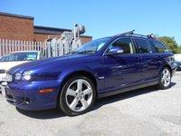 USED 2010 59 JAGUAR X-TYPE 2.2 SE 5d AUTO 145 BHP DIESEL ESTATE AUTOMATIC LEATHER INT SAT NAV