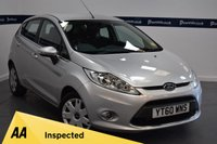 USED 2010 60 FORD FIESTA 1.4 ZETEC 16V 5d AUTO 95 BHP ( ONLY 20,000 MILES)
