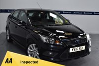 USED 2010 10 FORD FOCUS 1.6 ZETEC S S/S 5d 115 BHP (7 STAMP SERVICE HISTORY)