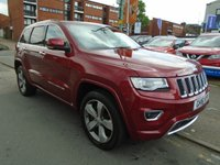 USED 2016 16 JEEP GRAND CHEROKEE 3.0 V6 CRD OVERLAND 5d AUTO 247 BHP SAT NAV, PAN ROOF, REAR CAMERA