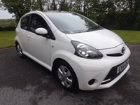 2014 TOYOTA AYGO 1.0 VVT-I MOVE WITH STYLE MM 5d AUTO 68 BHP