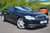 """USED 2011 61 MERCEDES-BENZ S CLASS 3.0 S350 BLUETEC 4d AUTO 258 BHP ~ FACTORY AMG STYLING PACKAGE FACTORY AMG STYLING PACKAGE ~ 20"""" AMG ALLOYS ~ SUNROOF"""