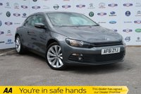USED 2011 61 VOLKSWAGEN SCIROCCO 2.0 GT TDI BLUEMOTION TECHNOLOGY 2d 140 BHP HISTORY,£30 TAX,BIG MPG,ALLOYS