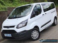 2014 FORD TOURNEO CUSTOM L2 H1 300 LWB MINIBUS 100 BHP £9995.00