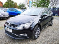 2014 VOLKSWAGEN POLO 1.4 SE DESIGN TDI BLUEMOTION 5d 75 BHP