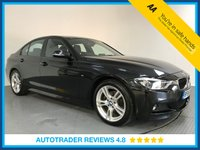 USED 2016 66 BMW 3 SERIES 2.0 320D M SPORT 4d AUTO 188 BHP FULL BMW HISTORY - 1 OWNER - SAT NAV - EURO 6 - LEATHER - REAR SENSORS - AIR CON - BLUETOOTH