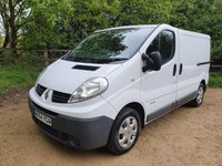 2014 RENAULT TRAFIC 2.0 SL27 DCI 5d 115 BHP FULL SERVICE HISTORY ELECTRIC PACK £6250.00