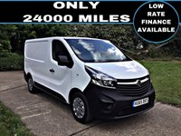 USED 2015 65 VAUXHALL VIVARO 1.6 2700 L1H1 CDTI P/V 1d 89 BHP 1 GENUINE LOW MILES, NEW MOT AND SERVICE AT MAIN DEALER