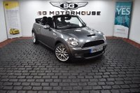 USED 2010 10 MINI CONVERTIBLE 1.6 Cooper S 2dr 2 OWNERS, FSH, LOW MILES, AUTO