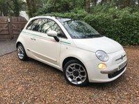 2010 FIAT 500 1.2 LOUNGE MULTIJET 75 3d 75 BHP £3689.00