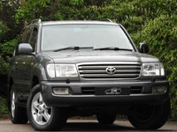 USED 2004 53 TOYOTA LAND CRUISER 4.2 TD 5d AUTO 201 BHP FSH LEATHER 8 SEATER A/C VGC