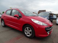 2009 PEUGEOT 207 1.4 SPORT GREAT CONDITION YEAR MOT £1595.00