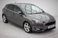 USED 2015 65 FORD FOCUS 1.6 ZETEC 5d AUTO 124 BHP