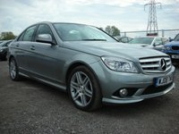 USED 2008 08 MERCEDES-BENZ C CLASS 3.0 C320 CDI SPORT 4d AUTO 222 BHP 1 Owner - FSH - Sat nav - Leather - Parking sensors