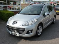 USED 2011 11 PEUGEOT 207 1.6 SW SPORT 5d 120 BHP Low mileage 207 SW with Panoramic sunroof, alloy wheels, recent service and MOT. Locally owned.
