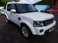 2015 LAND ROVER DISCOVERY 3.0 SDV6 COMMERCIAL XS AUTO 255  £22995.00