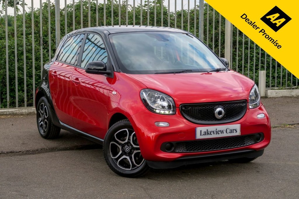USED 2016 65 SMART FORFOUR 1.0 PRIME 5d 71 BHP
