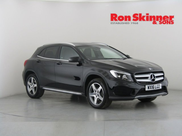 View our 2016 16 MERCEDES-BENZ GLA-CLASS 2.1 GLA 200 D AMG LINE 5d 134 BHP