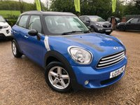 2013 MINI COUNTRYMAN 1.6 COOPER D 5d 112 BHP