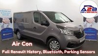 USED 2015 15 RENAULT TRAFIC 1.6  BUSINESS PLUS  115 BHP Full Renault History, Air Con, Colour Coded , Fully Plylined.  **Drive Away Today** Over The Phone Low Rate Finance Available