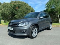 USED 2015 15 VOLKSWAGEN TIGUAN 2.0 R LINE TDI BLUEMOTION TECH 4MOTION DSG 5d AUTO 139 BHP AUTOMATIC DSG FACELFT TIGUAN R LINE WITH FSH