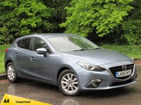 USED 2015 65 MAZDA 3 2.0 SE-L NAV 5d 118 BHP HEATED FRONT SEATS, BLUETOOTH CONNECTION