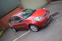 USED 2006 06 FORD FIESTA 1.2 STYLE 16V 5d 78 BHP NEW MOT ON PURCHASE LONG MOT + LOW MILES