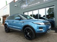 2013 LAND ROVER RANGE ROVER EVOQUE 2.2 ED4 PURE TECH 5d 150 BHP £15995.00