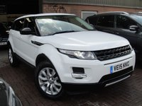 USED 2015 15 LAND ROVER RANGE ROVER EVOQUE 2.2 SD4 PURE TECH 5d AUTO 190 BHP ANY PART EXCHANGE WELCOME, COUNTRY WIDE DELIVERY ARRANGED, HUGE SPEC
