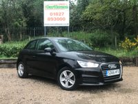 USED 2016 66 AUDI A1 1.6 TDI SE 3dr £0 Tax, 1 Owner, FASH