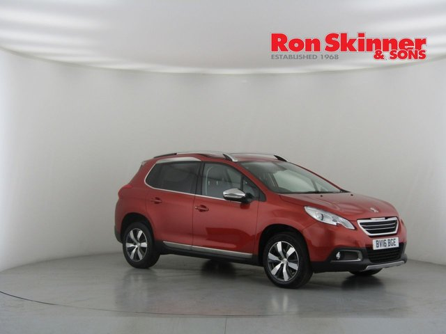 View our 2016 16 PEUGEOT 2008 1.6 BLUE HDI S/S ALLURE 5d 120 BHP